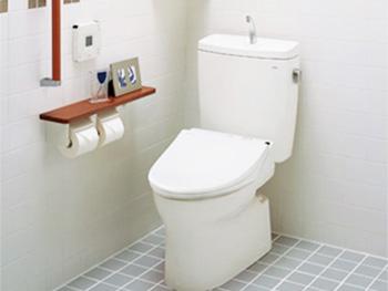 TOTO ピュアレストQR(手洗い付)+ウォシュレットSB
