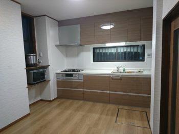 【郡山市】K様邸キッチン及び寝室リフォーム工事(望月)
