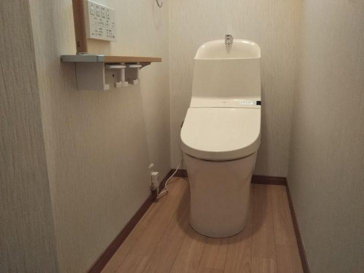 【郡山市】S様邸 1Fトイレ工事 (二瓶)
